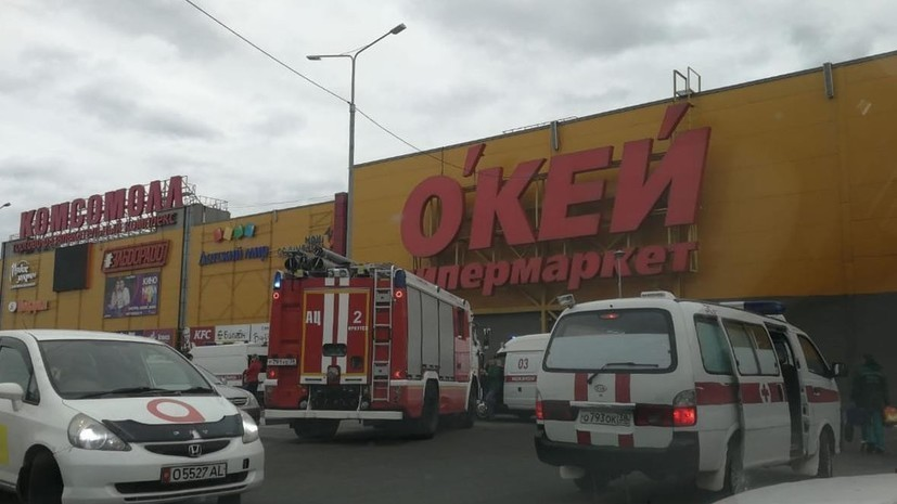 Система оповещения о пожаре не работала в ТЦ в Иркутске в момент прибытия спасателей