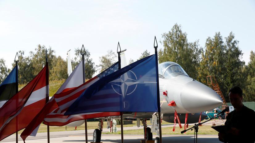 НАТО начнёт патрулировать воздушное пространство над Черногорией