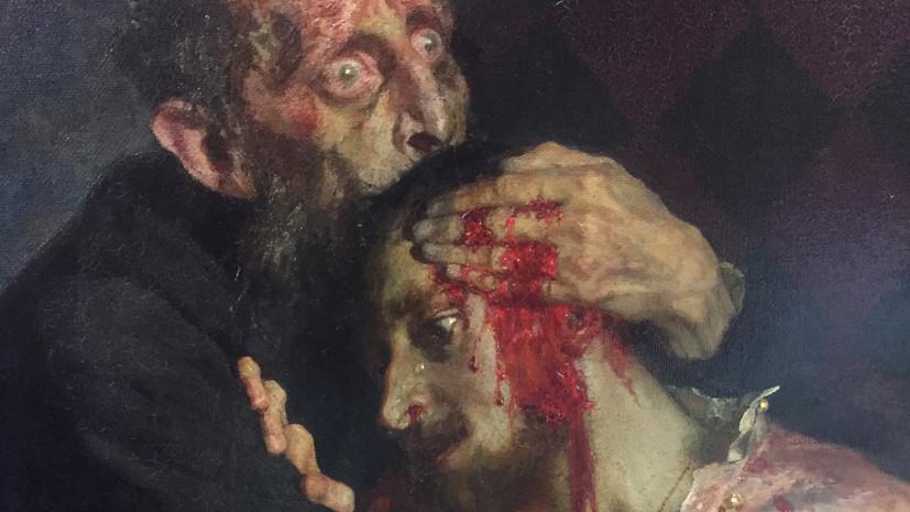 В Третьяковской галерее сообщили, что повреждённая вандалом картина Репина «хронически больна»