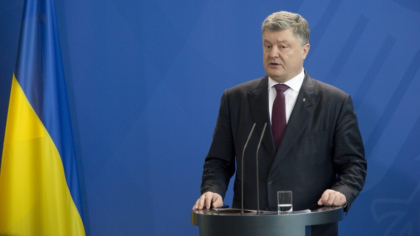 Порошенко объявил о планах построить мост через Дунай