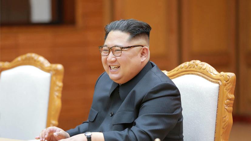 СМИ: Ким Чен Ын в письме Трампу выразил желание встретиться