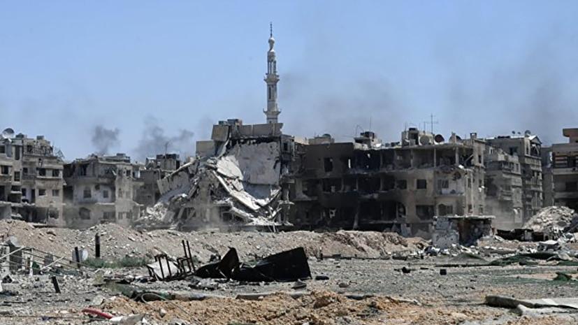 СМИ: В Сирии при обстреле со стороны коалиции погибли восемь человек