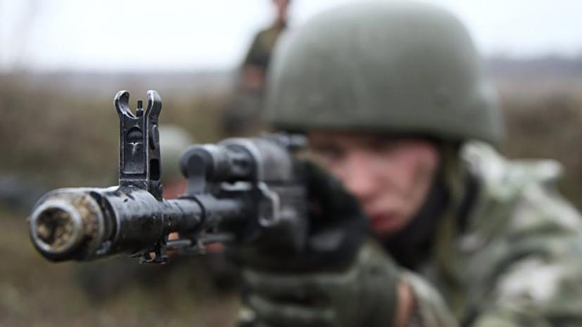 В ЛНР заявили, что инструкторы НАТО готовят Киев к наступлению в Донбассе