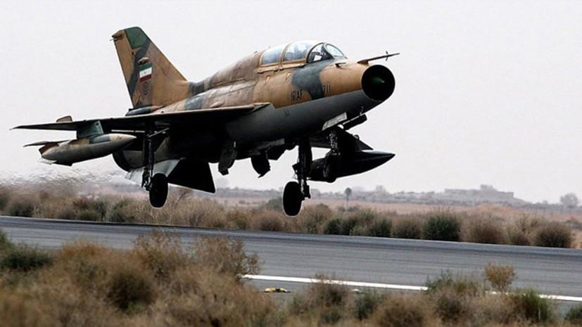СМИ: В Иране разбился тренировочный истребитель ВВС