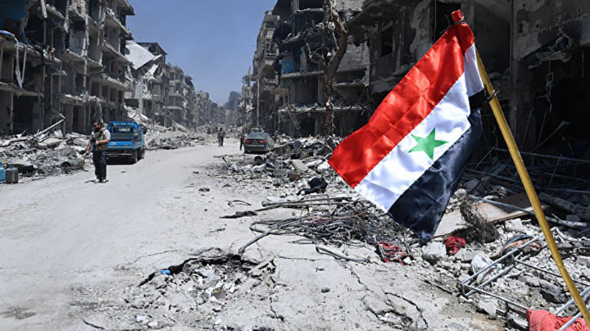 В МИД Сирии потребовали от США покинуть район Эт-Танф