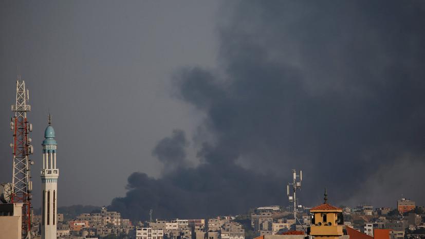Армия Израиля проинформировала о ракетной атаке состороны сектора Газа