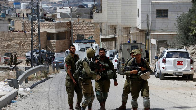 Израильские солдаты задержали семерых разыскиваемых палестинцев