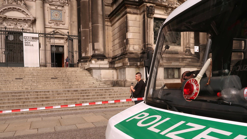 СМИ: Полицейский открыл стрельбу в соборе в Берлине