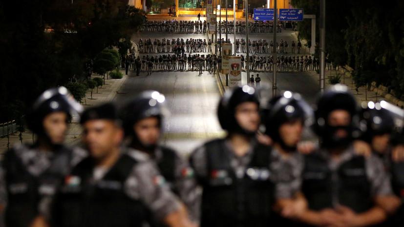 Премьер Иордании подал в отставку на фоне протестов
