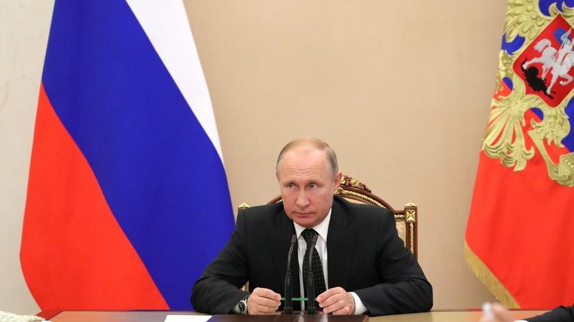 Путин освободил от должности первого замглавы МЧС