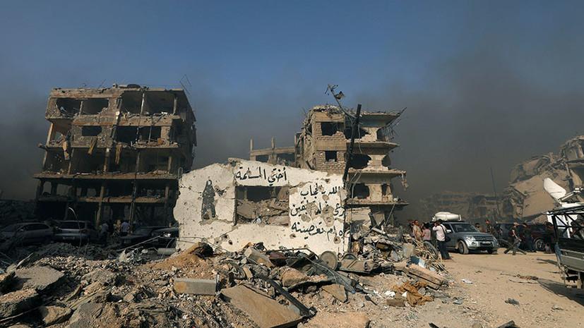 СМИ: В результате авиаудара коалиции США в Сирии погибли 10 мирных жителей
