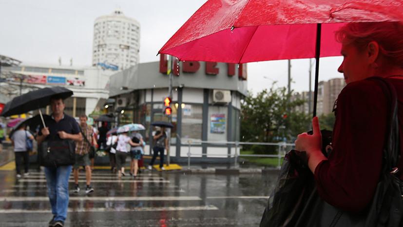 В Москве 6 июня объявлен «жёлтый» уровень погодной опасности
