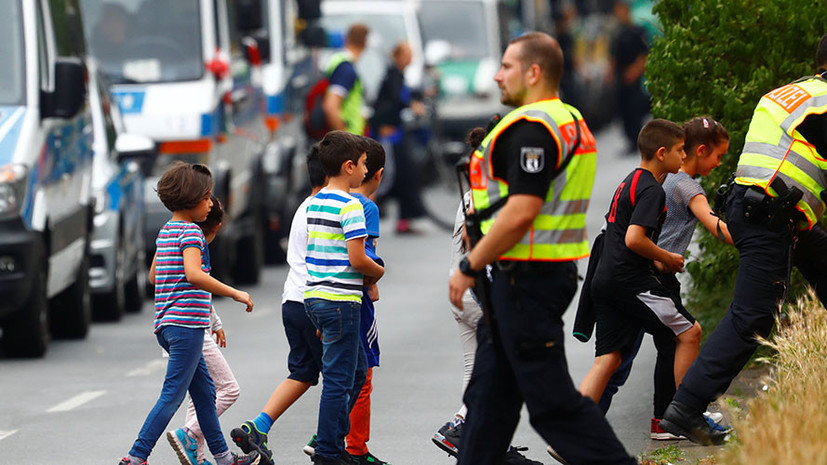 В Берлине полиция проводит спецоперацию в школе