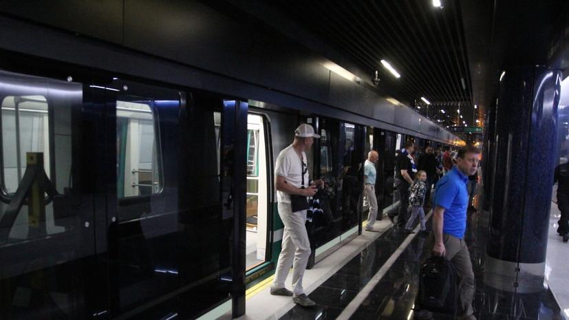 В петербургском метро прошли учения аварийно-спасательных формирований