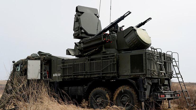 ПВО Крыма усилят в 2018 году дивизионом «Панцирь-С1»