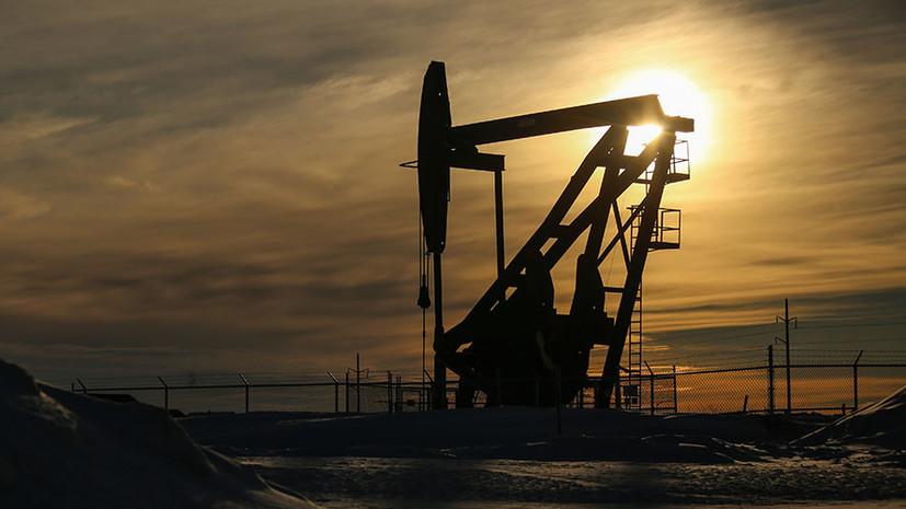 Цена на нефть Brent опустилась ниже $74 за баррель