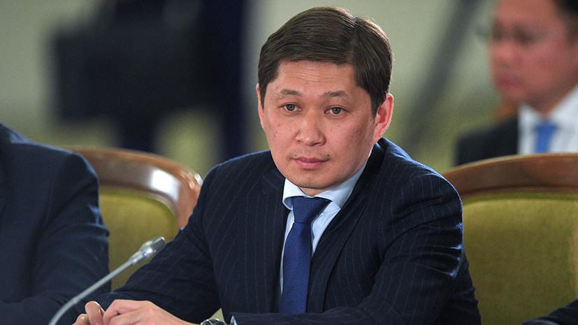Экс-премьер Киргизии арестован по обвинению в коррупции