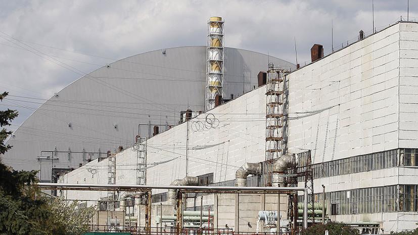 В Киеве заявили об отсутствии угрозы распространения пожара на объекты Чернобыльской АЭС