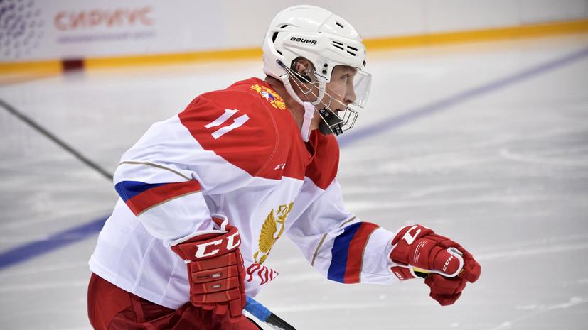 Путин рассказал, сколько времени ежедневно занимается спортом