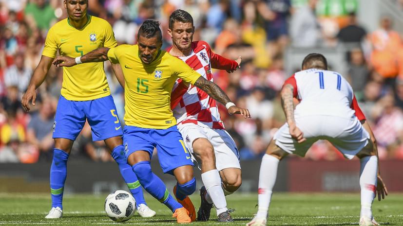 Моуринью уверен, что сборная Бразилии по футболу займёт первое место в группе на ЧМ-2018