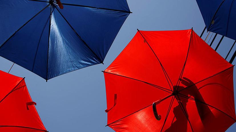 В Японии изобрели летающий зонт