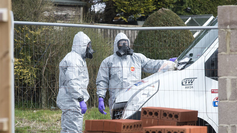 СМИ: Британская полиция установила время использования отравляющего вещества в Солсбери