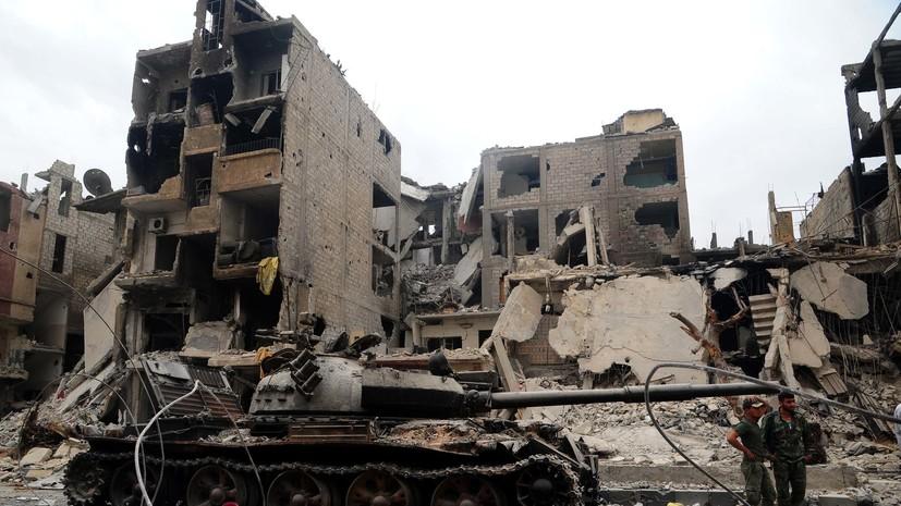 МИД России: коалиция не сделала ничего для улучшения гуманитарной ситуации в Ракке