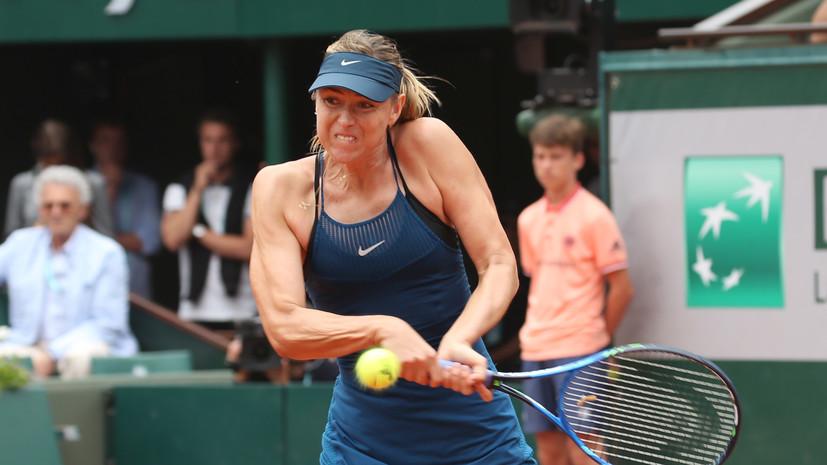 Чакветадзе назвала причину поражения Шараповой от Мугурусы в четвертьфинале «Ролан Гаррос»