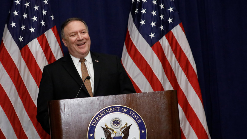 Помпео: США противостоят тирании, как ивгоды 2-ой мировой