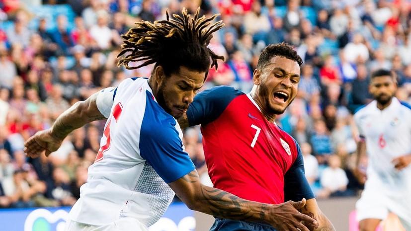 Сборная Панамы проиграла Норвегии в контрольном матче перед ЧМ-2018
