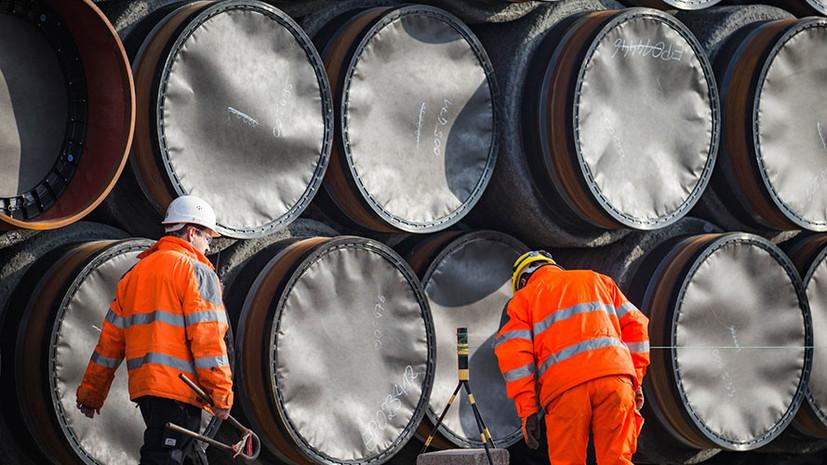СМИ: Правительство Швеции одобрило строительство «Северного потока — 2»