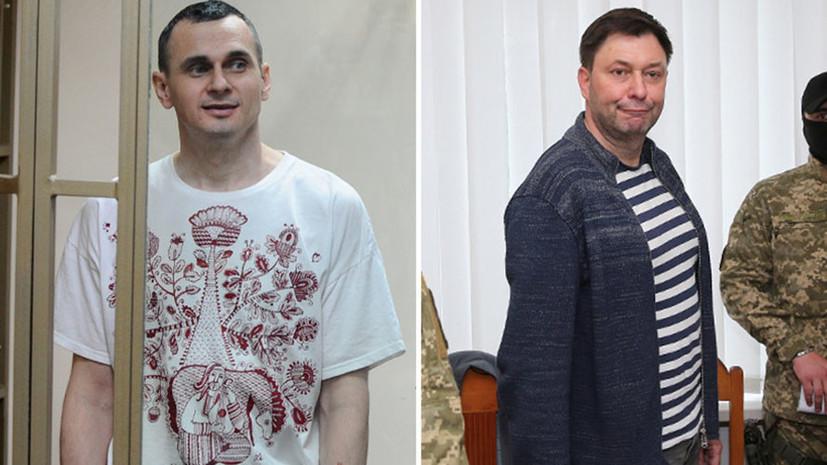 Путин прокомментировал возможность обмена Вышинского на Сенцова