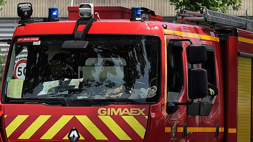 СМИ: Во Франции на заводе произошёл взрыв
