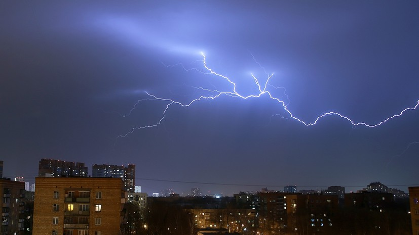В Тюменской области объявили штормовое предупреждение