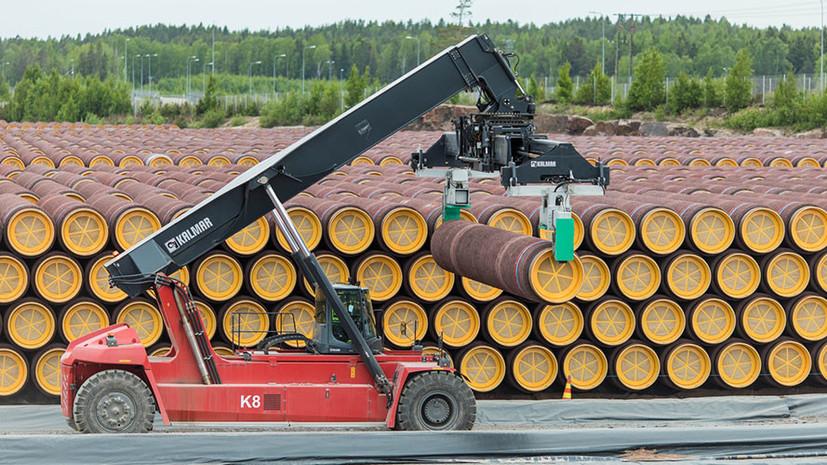 В России выдали первое разрешение на строительство «Северного потока — 2»