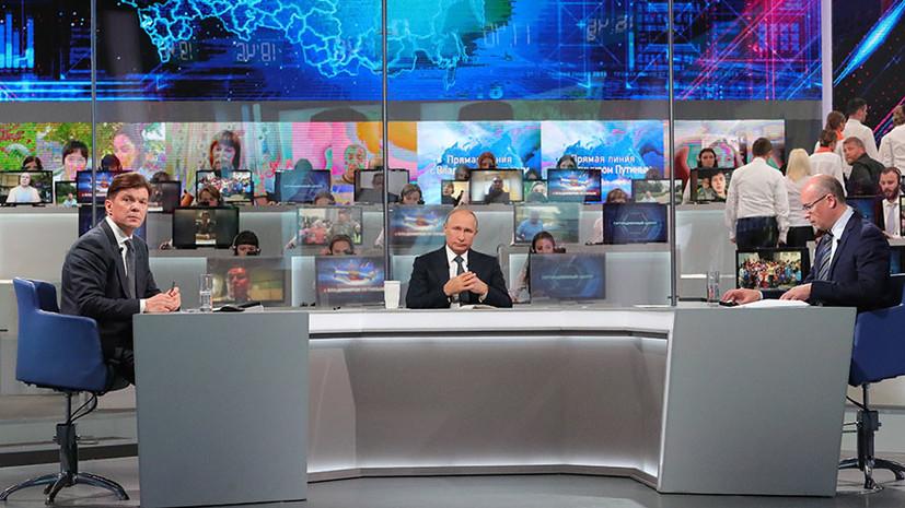 «Стадион — не место для рынков»: Путин ответил на вопросы о спорте и безопасности на ЧМ