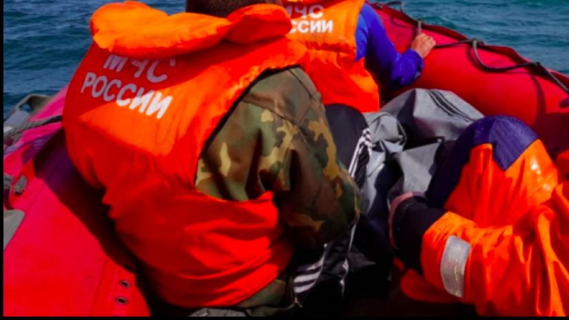 В Чёрном море прошли учения водолазов МЧС
