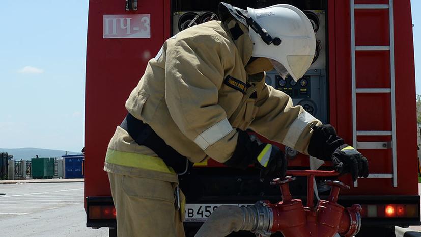 В Красноярском крае произошёл пожар в жилом доме