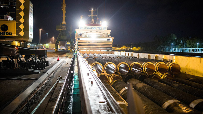 Швеция усилит контроль в Балтийском море на время строительства «Северного потока — 2»