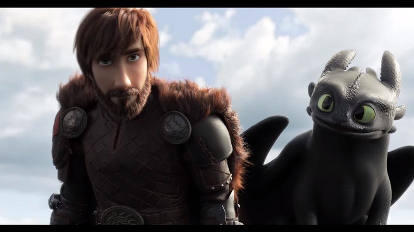 Вышел трейлер третьей части мультфильма «Как приручить дракона»