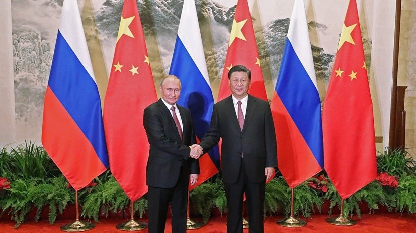 Путин и Си Цзиньпин выступили с совместным заявлением относительно ЧМ-2018 по футболу