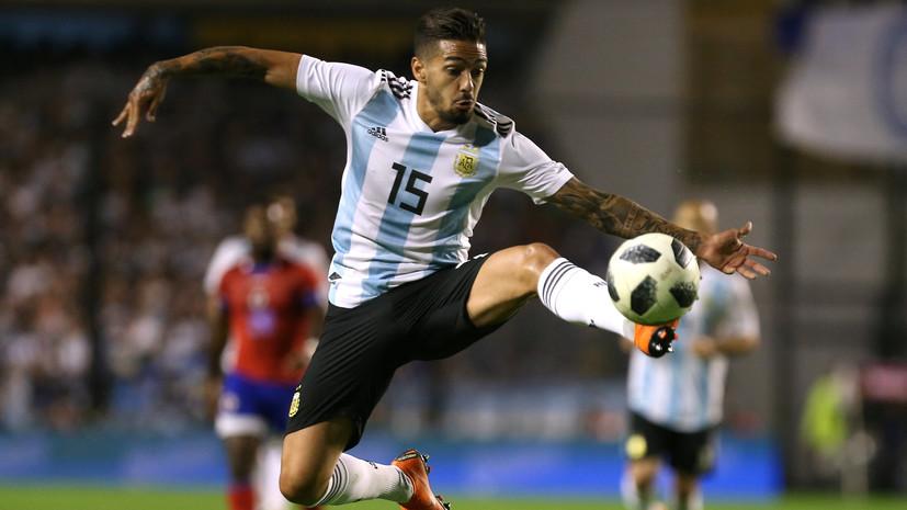 Футболист сборной Аргентины Лансини пропустит ЧМ-2018 из-за травмы колена