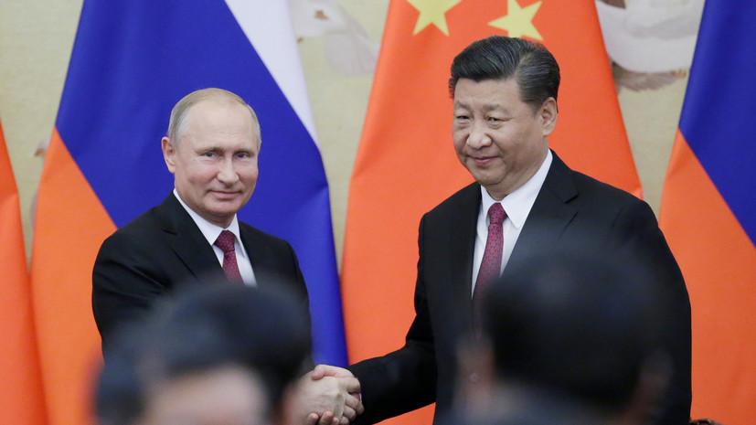 Путин рассказал о проекте строительства вместе с Китаем дальнего магистрального самолёта