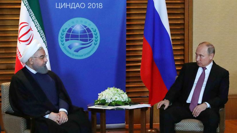Путин оценил идею прокладки трубопроводов в КНР через Монголию