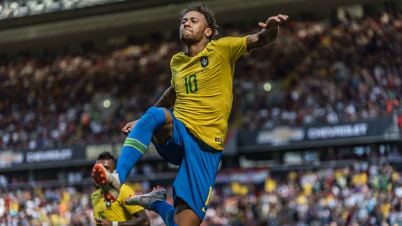 Моуринью: Бразилия обыграет Мексику в 1/8 финала ЧМ-2018