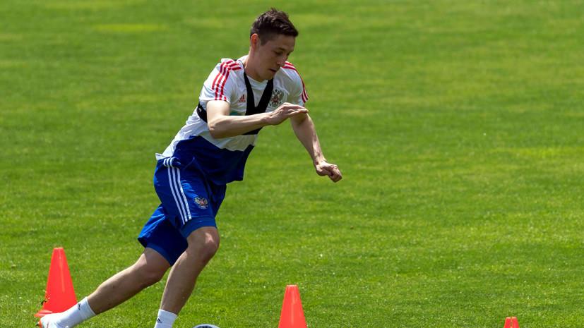 Кузяев не ожидал, что так много детей придёт на открытую тренировку сборной России