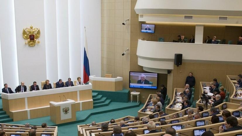 В Совфеде оценили слова Порошенко о скором поднятии флага Украины над Севастополем