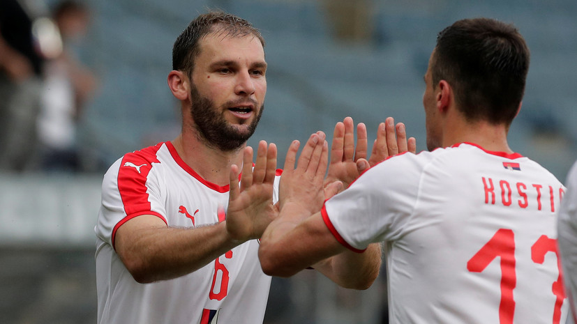 Иванович повторил рекорд Станковича по числу игр за сборную Сербии