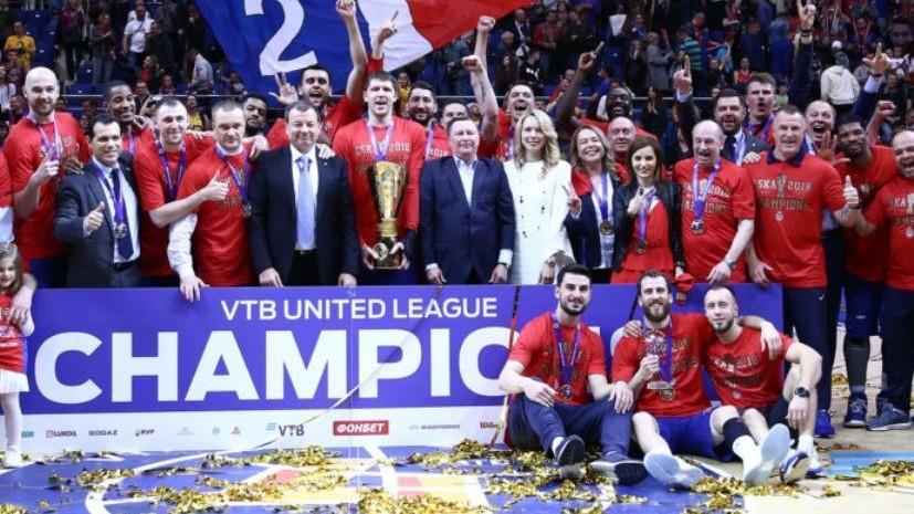 ЦСКА одержал победу над «Химками» и стал чемпионом баскетбольной Единой лиги ВТБ