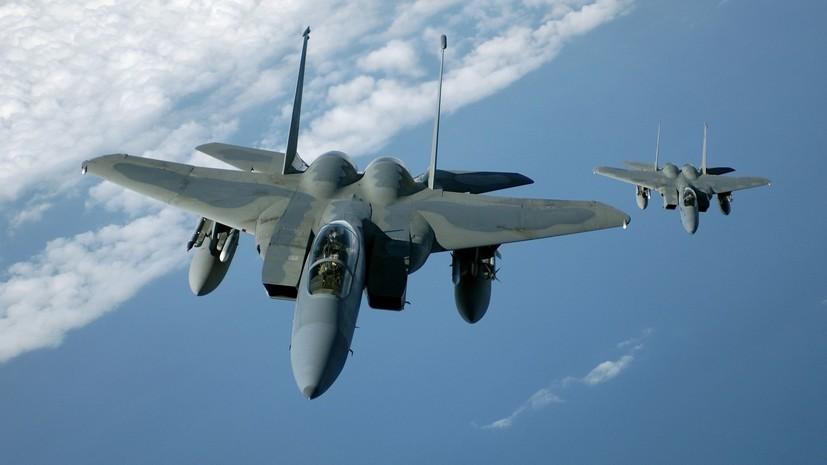 После официального представления: ВВС США на Окинаве приостанавливают полёты F-15 после крушения истребителя